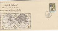 Norfolk Island-1986 Phillip Reprint FDC - Norfolk Island