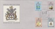 Norfolk Island-1989 10th Anniversary Self Government FDC - Norfolk Island