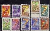 Russie 1959-1960 N°Y.T. : 2202 à 2213 - 2209 Et 2211** - Unused Stamps