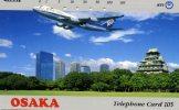 TELECARTE DU JAPON.... AVION.... QUI RECONNAITRA?  VOIR SCANNER - Vliegtuigen
