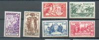 MAU 270 - YT 66 à 71 * Charnières Complètes - Mauritanien (1906-1944)