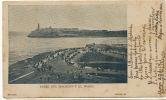 La Habana  Paseo Malecon  Morro  P. Used 1902 Pioneer Card Circulada - Cuba