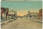 La Habana   Calle 17 En El Vedado Tram Tramway Tranvia No 14 Circulada 1912 - Cuba