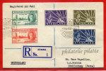 NYASSALAND LETTRE RECOMMANDEE DU 14/07/1949 DE ZOMBA POUR STEFFISBURG SUISSE COVER - Nyasaland (1907-1953)