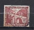 """587  (OBL)  Y  &  T   (pont Route Des Alpes)  """"IIIREICH""""   (Allemegne) - Usati"""