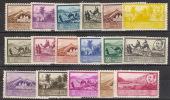 Africa Occidental 03/19 * Paisajes Y Franco. 1950. Charnela - Marocco Spagnolo