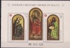 """1989 Malta Orden  San G. Battista Dal Polittico """"dell'Agnello Mistico **MNH - Malte (Ordre De)"""