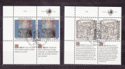 1990   N°197 - 198      OBLITERES   CATALOGUE  ZUMSTEIN - Office De Genève