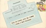 TELEGRAMME SUIS EN PANNE AVEC MA FEMME VIENS A MON SECOURS - Postal Services