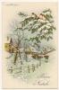 BUON NATALE - PAESAGGIO - ILL. A. BERTIGLIA - N. VG. - Vedi Retro - Formato Piccolo - Kerstmis