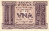 ITALY  P. 26 1 L 1935 UNC - [ 1] …-1946 : Koninkrijk
