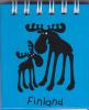 Finland Notebook Reindeer - Reno - Renne / Magnet - Imán - Aimant - Andere Verzamelingen