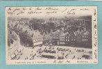 MIDDELBURG - Vogelvlucht ( Van Af ´t Stadhuis )  -  1902  -  BELLE CARTE PRECURSEUR ANIMEE - - Middelburg