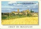 CPSM De OING EN BEAUJOLAIS (69620) : Vue Générale. - Amplepuis