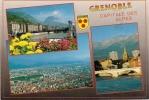 "CPM GRENOBLE ""multivues"" Ed. Flash Cartes - Grenoble"
