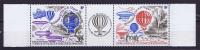 TAAF 1984 Maury A81-82 Tript.  Neuf**/ MNH,   Bord De Feuille, - Franse Zuidelijke En Antarctische Gebieden (TAAF)