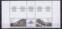 TAAF 1986 Maury A 93-94 Neuf**/ MNH,  Tript.  Coin  De Feuille - Franse Zuidelijke En Antarctische Gebieden (TAAF)