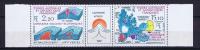 TAAF 1988 Maury 141-142 Triptyque Neuf**/ MNH,  Bord  De Feuille - Franse Zuidelijke En Antarctische Gebieden (TAAF)