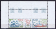 TAAF 1990 Maury A112-113 Triptyue Neuf**/ MNH, Coin De Feuille - Franse Zuidelijke En Antarctische Gebieden (TAAF)