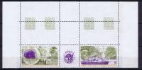 TAAF 1991 Maury A117-118 Triptyue Neuf**/ MNH, Coin De Feuille - Nuevos