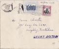 5684# SOUDAN SUDAN LETTRE SURFACE MAIL Obl KHARTOUM 1957 Pour KEIGHLEY YORKSHIRE ENGLAND - Soudan (1954-...)