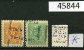 Surcharge à Cheval Sur Timbres TAXE 1905 - Montenegro