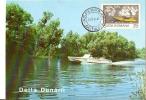 Romania / Maxi Card / Poste Transportation In Danube Delta - Post