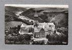 """23516   Lussemburgo,  Clervaux,  Vue  Aerienne  ,  L""""Abbaye  St-Maurice  Et  St-Maur,  VG  1956 - Diekirch"""