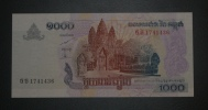 CAMBODGE - Billet De 1000 Riels - 2007 - N°1741436 - Cambodia
