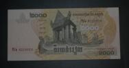 CAMBODGE - Billet De 2000 Riels - 2007 - N°6218816 - Cambodia