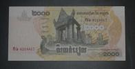 CAMBODGE - Billet De 2000 Riels - 2007 - N°6218817 - Cambodia