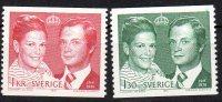 "SUEDE - 1976: ""Mariage Royal Charles XVI Gustave Et Silvia Sommerlath"" - N° 925/926** - Schweden"