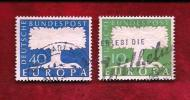 GERMANY 1957 Cancelled Stamp(s) Europa 268-269 - [7] Federal Republic
