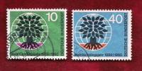 GERMANY 1960 Cancelled Stamp(s) Year Of The Refugees 326-327 - [7] Federal Republic