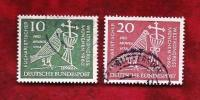 GERMANY 1960 Cancelled Stamp(s) Dove, Chalice Crucifix 330-331 - [7] Federal Republic