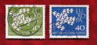 GERMANY 1961 Cancelled Stamp(s) Europa 367-368 - [7] Federal Republic