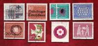 GERMANY 1963 Cancelled Stamp(s) Mainly Single Commematives (8 Stamps) 390=411 - [7] Federal Republic