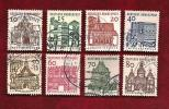 GERMANY 1964 Cancelled Stamp(s) Definitives 454-461 - [7] Federal Republic