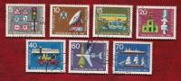GERMANY 1965 Cancelled Stamp(s) Traffic Exposition 468-474 - [7] Federal Republic