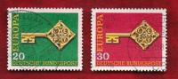 GERMANY 1968 Cancelled Stamp(s)  Europa 559-560 - [7] Federal Republic