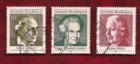 GERMANY 1969  Cancelled Stamp(s)  Female Voting Right 596-598 - [7] Federal Republic
