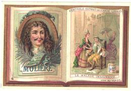 0191 Classiques Français : Voltaire, Corneille, Lafontaine, Boileau, Racine, Molière - Liebig