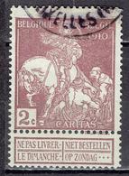 Belgien / Belgium - Mi-Nr 86 Gestempelt / Used (p840) - 1910-1911 Caritas