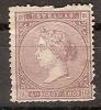 Antillas 18 * Isabel II. 1869. Roto - Cuba (1874-1898)