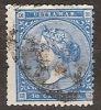 Antillas U 13 (o) Isabel II. 1868 - Cuba (1874-1898)