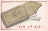 PUBBLICITA' ADVERTISING REKLAM WERBUNG SIGARETTE MACEDONIA TABACCO C´ERAUNA VOLTA VG1919 PERFETTA AUTENTIQUE100% - Pubblicitari