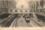 Cpa Paris Int De La Nouvelle Gare D'Orléans - Stazioni Con Treni