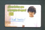 MEXICO  -  Chip Phonecard As Scan - Mexiko
