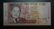 ILE MAURICE - Billet De 25 Roupies  - 1999 -  N°AF475816 - Maurice