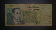 MAROC - Billet De 50 Dirhams - 2002/AH1423 – N°15 009404 - Maroc